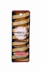 SMALL SIZE Lotions: Packettes, Sachets: Ambrosia 360 Step 2 Bronzer 15ml Packette