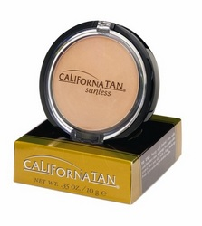 Tanning Accessories: Sunless Bronzing Powder Compact with Brush & Mirror