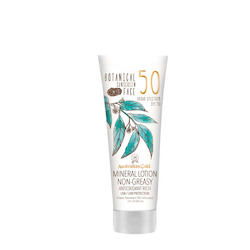 SPF Sun-Blocking Products: Australian Gold Botanical SPF50 Tinted Face Sunscreen Lotion 88ml