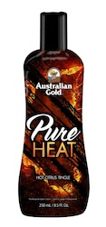 Australian Gold: Pure Heat 250ml HOT Citrus Tingle Lotion